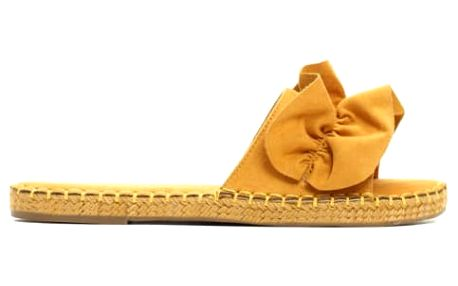 Dámské žluté pantofle Aurelie 9193