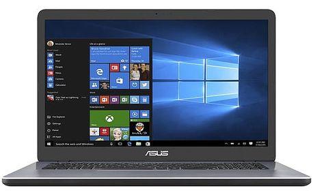 Notebook Asus F705NC-BX014T šedý + dárky (F705NC-BX014T)