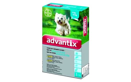 BAYER Advantix pro psy spot.on.od 4-10kg a.u.v.1x1ml