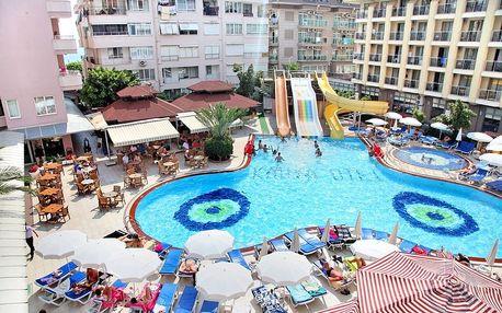 Turecko - Alanya na 15 dní, all inclusive s dopravou letecky z Brna