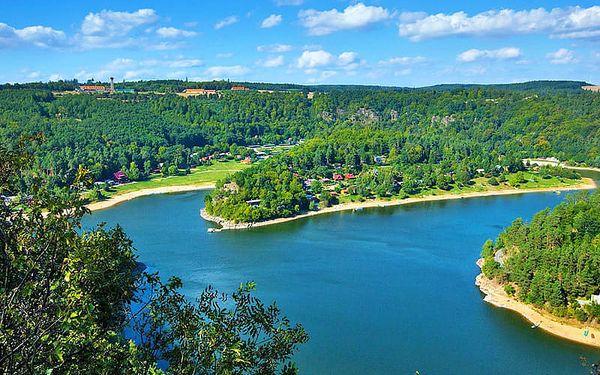 Odpočinková jižní Morava poblíž Vranovské přehrady v penzionu s bazénem se slanou vodou, masážním křeslem, vířivkou a polopenzí
