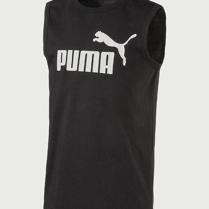 Tričko Puma ESS No.1 SL Tee Černá