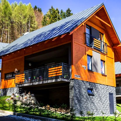Luxusná chata s 50% zľavou na wellness pod Martinskými hoľami