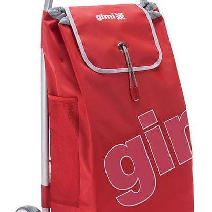 Gimi World Galax nákupní taška na kolečkách červená