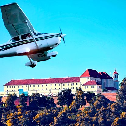 Seznamovací let: 25 min. nad Brnem a přehradou