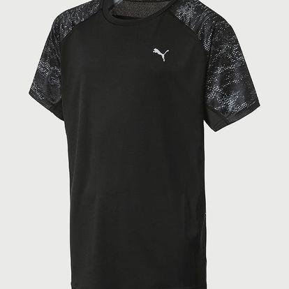 Tričko Puma Gym AOP Tee Černá