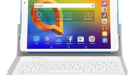 "ALCATEL A3 10"" Wi-Fi 8079 + klávesnice (8079-2DALE15-3) bílý"