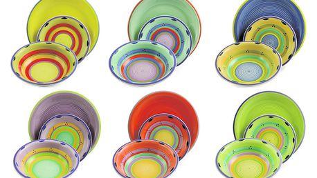 18dílný set barevného nádobí Villa d'Este Sri Lanka