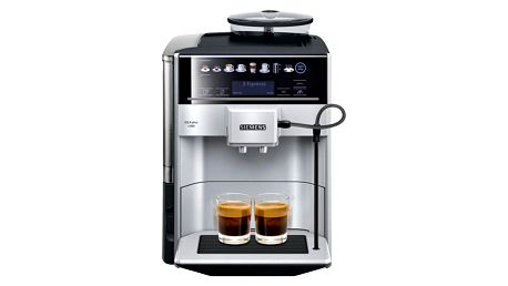 Espresso Siemens EQ.6 TE653311RW stříbrné + dárek Káva zrnková Simon Lévelt BIO Uganda 250 g v hodnotě 159 Kč + DOPRAVA ZDARMA
