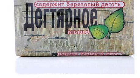 Léčivé mýdlo s březovým dehtem 140 g