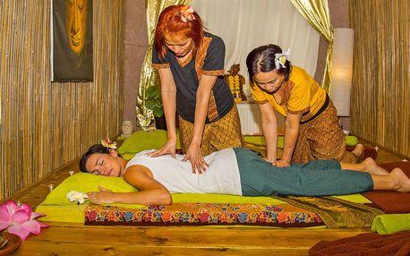 Profesionální thajská masáž pro jednoho i páry