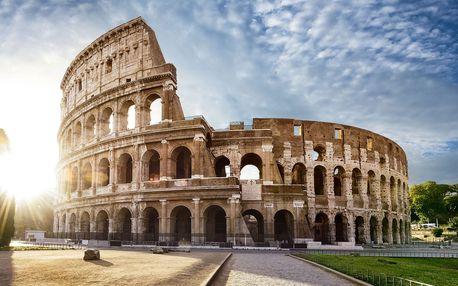 5denní zájezd za krásami jižní Itálie - Řím, Neapol, Capri, Vesuv