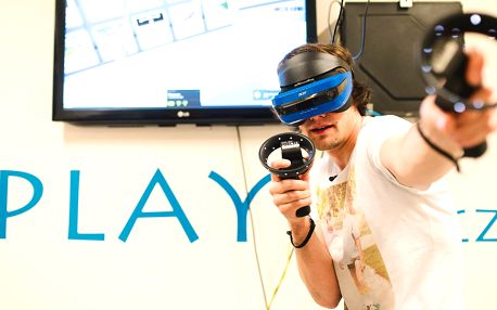 60 min. akce: virtuální realita až pro 5 hráčů