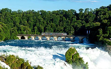3denní zájezd pro 1 osobu do Švýcarska k nejmohutnějším vodopádům Evropy.