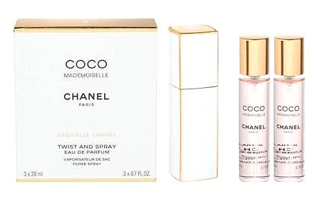 Chanel Coco Mademoiselle 3x20 ml EDP Twist and Spray W
