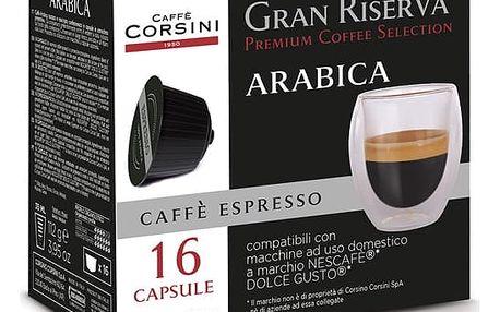 Kapsle pro espressa CORSINI ESPRESSO 100% ARABICA