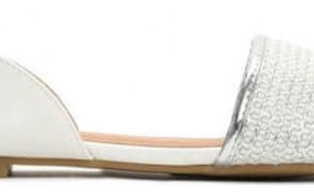 Dámské bílé sandály Costa 7249