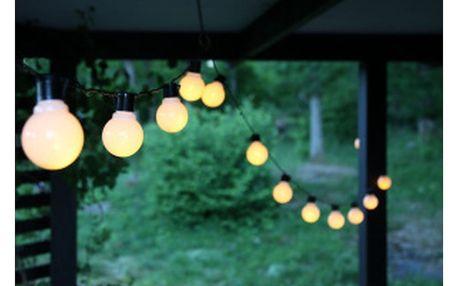 Světelný LED řetěz vhodný do exteriéru Best Season Partaj, 16 světýlek