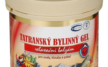 Topver tatranský gel 250 ml