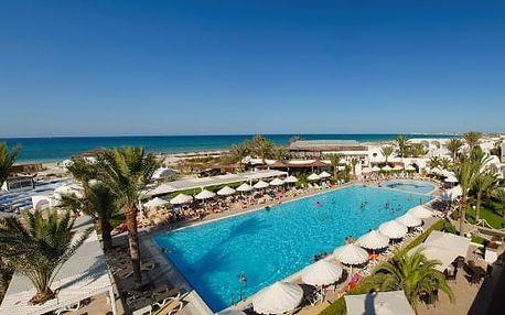 Tunisko - Djerba na 12 až 15 dní, all inclusive s dopravou letecky z Brna