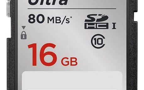 Sandisk SDHC Ultra 16GB UHS-I U1 (80R/10W) (SDSDUNC-016G-GN6IN)