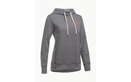 Mikina Under Armour Fav Fleece PO Left Chest Šedá