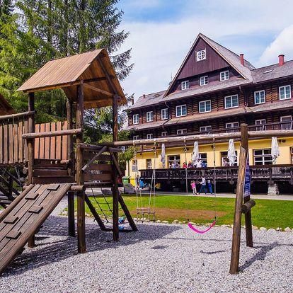 Nízké Tatry s polopenzí, wellness i aktivitami