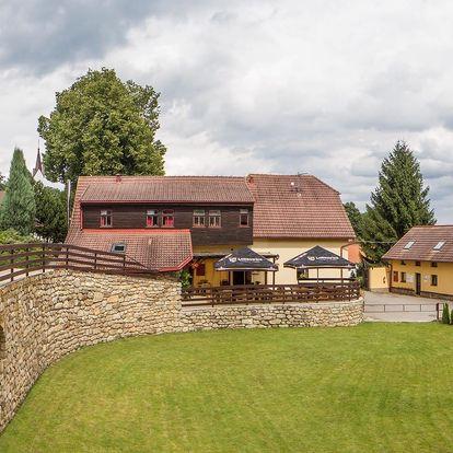 Penzion Přeštěnice v jižních Čechách s polopenzí