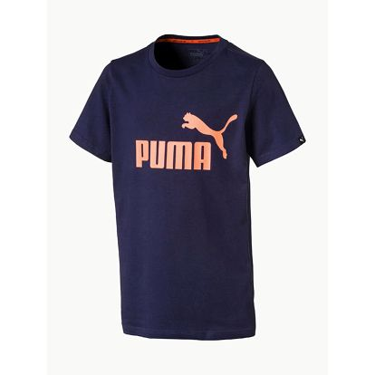 Tričko Puma ESS No.1 Tee Modrá