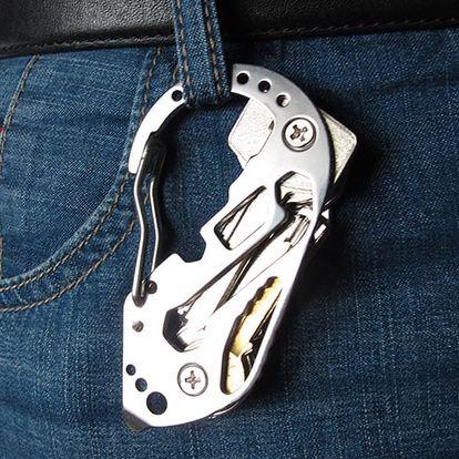 Multifunkční klíčenka pro muže