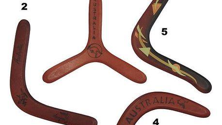 CorbySport 32770 Bumerang dřevěný