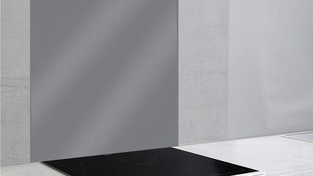 Šedý skleněný kryt na zeď u sporáku Wenko, 70x60cm