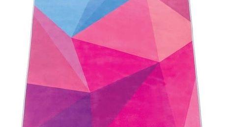 Ručník na jógu Yoga Design Lab Hot Opal, 340 g