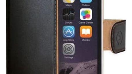 Pouzdro na mobil flipové Celly Wally pro Apple iPhone 8/7 černé (WALLY800)