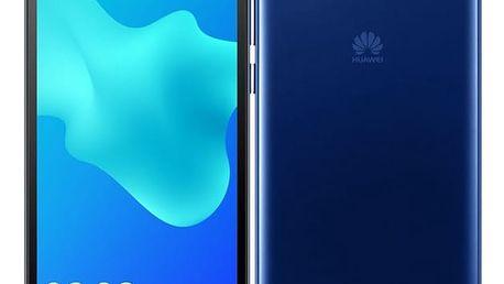 Mobilní telefon Huawei Y5 2018 Dual SIM modrý + dárek (SP-Y518DSLOM)