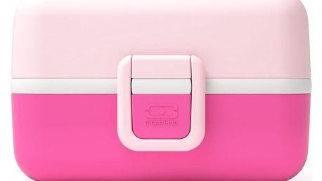 Růžový obědový box Monbento Tresor