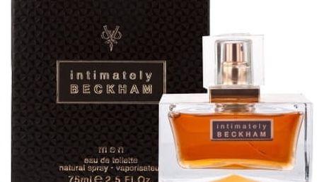David Beckham Intimately Men 50 ml toaletní voda pro muže