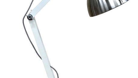 Stolní lampa ve stříbrné barvě Red Cartel Dexter Mini