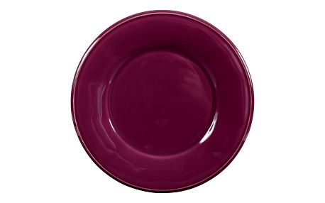 CÔTÉ TABLE Keramický talíř Constance Prune 28,5cm, fialová barva, keramika