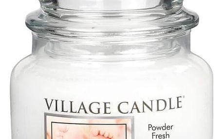 Village Candle Vonná svíčka ve skle, Pudrová svěžest - Powder fresh, 269 g