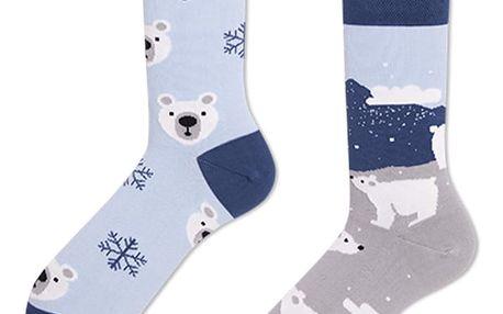 Ponožky Many Mornings Polar Bear,vel.39–42