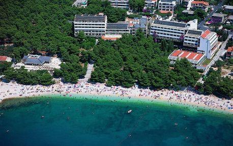 Chorvatsko - Makarska na 8 až 10 dní, polopenze s dopravou vlastní nebo autobusem
