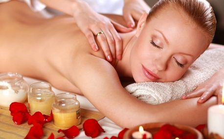 Chvilka jen pro vás: masáž dle výběru z 5 druhů