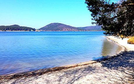 Máchovo jezero pro dva v Hotelu Kamýk pro 2 osoby s polopenzí. Relaxační masáž zad a šíje.
