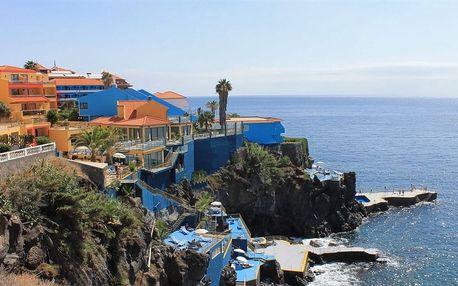 Madeira - na 8 dní, snídaně s dopravou letecky z Prahy