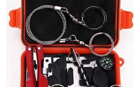 SOS krabička s nástroji záchrany