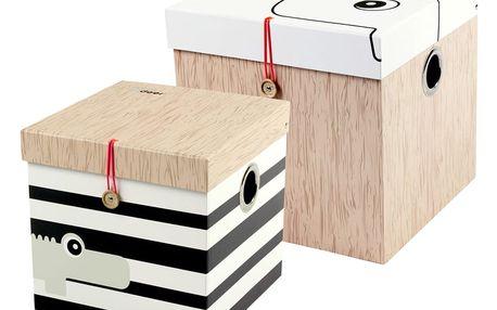 Sada 2 velkých boxů Done by Deer Square