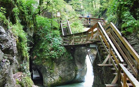 Turistika třemi soutěskami rakouských Alp: 1.9.