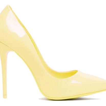 Dámské lodičky Marilyn 396 žluté