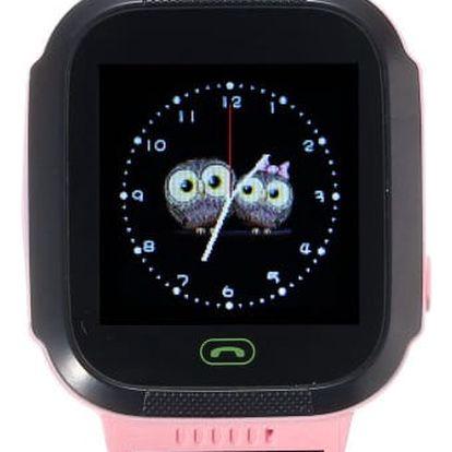 Chytré hodinky s GPS lokátorem - modrá - dodání do 2 dnů